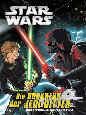 cover image of Die Rückkehr der Jedi Ritter Graphic Novel