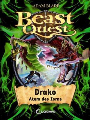 cover image of Beast Quest 23--Drako, Atem des Zorns