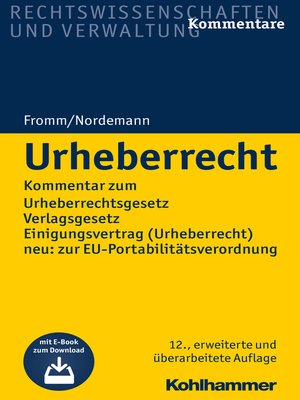 cover image of Urheberrecht
