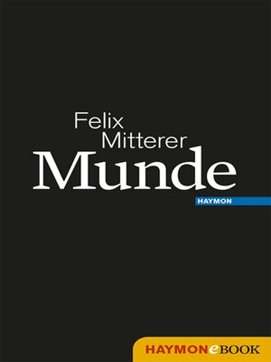 cover image of Munde