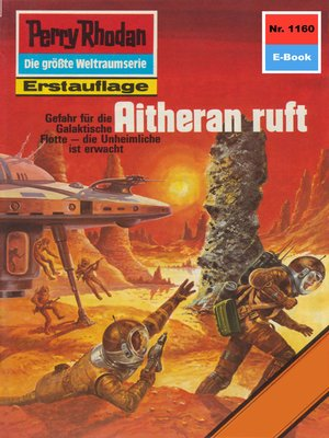 cover image of Perry Rhodan 1160