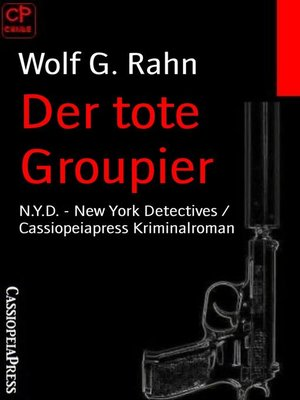 cover image of Der tote Groupier
