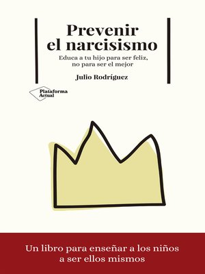 cover image of Prevenir el narcisismo