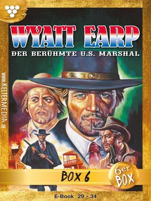 cover image of Wyatt Earp Jubiläumsbox 6 – Western