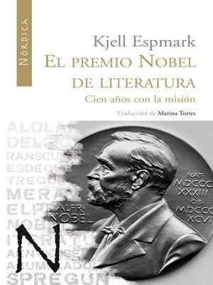 cover image of El premio Nobel de Literatura