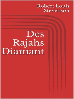 cover image of Des Rajahs Diamant
