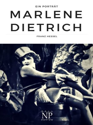 cover image of Marlene Dietrich