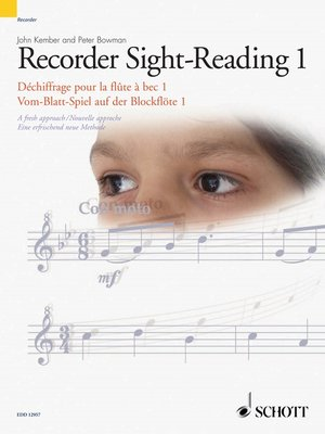 cover image of Recorder Sight-Reading 1