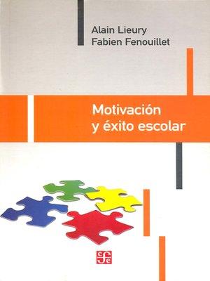 cover image of Motivación y éxito escolar