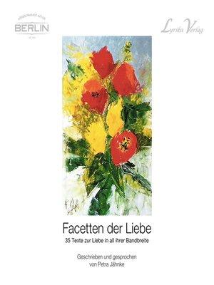 cover image of Facetten der Liebe