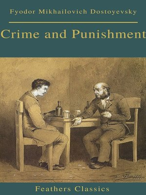 cover image of Crime and Punishment (With Preface) (Feathers Classics)