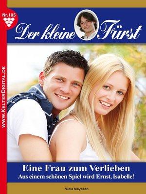 cover image of Der kleine Fürst 105 – Adelsroman