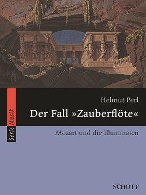 "cover image of Der Fall ""Zauberflöte"""