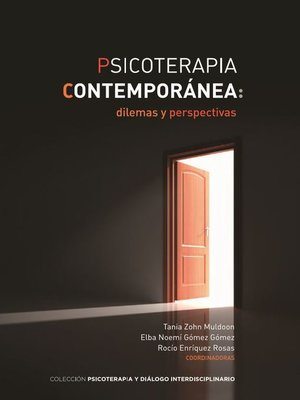 cover image of Psicoterapia contemporánea