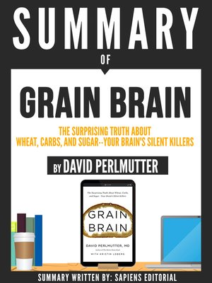 "cover image of Summary of ""Grain Brain"