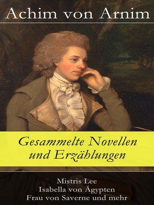 cover image of Gesammelte Novellen und Erzählungen