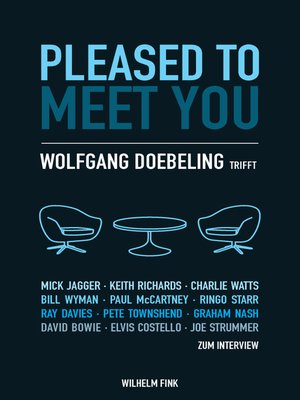 cover image of Pleased to Meet You