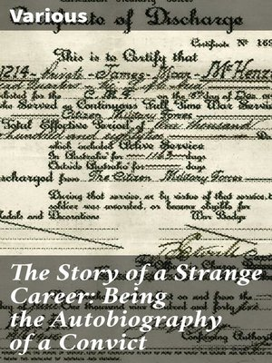 cover image of The Story of a Strange Career
