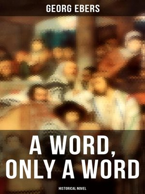 cover image of A Word, Only a Word (Historical Novel)
