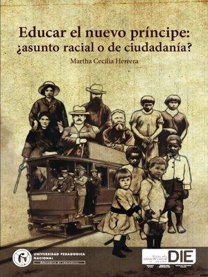 cover image of Educar el nuevo príncipe