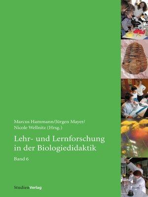 cover image of Lehr- und Lernforschung in der Biologiedidaktik
