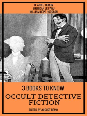 cover image of 3 books to know Occult Detective Fiction