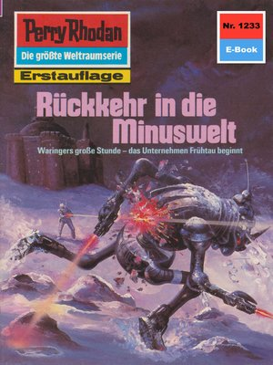 cover image of Perry Rhodan 1233