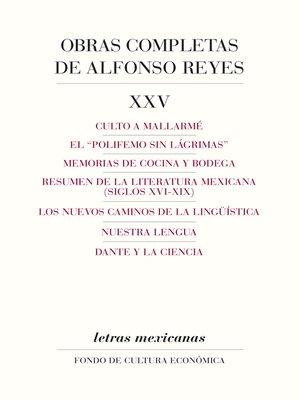 cover image of Obras completas, XXV