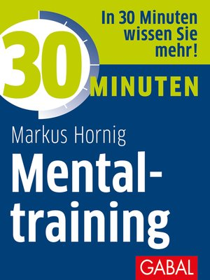 cover image of 30 Minuten Mentaltraining