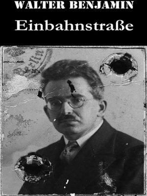 cover image of Einbahnstraße