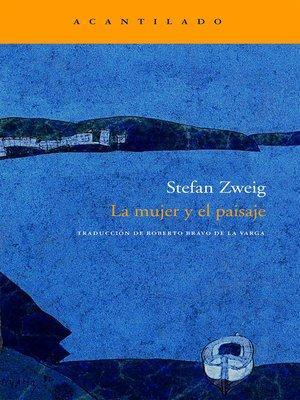 cover image of La mujer y el paisaje