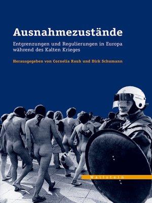 cover image of Ausnahmezustände