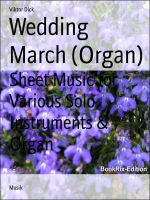 cover image of Wedding March (Organ)