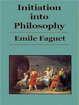cover image of Initiation Into Philosophy