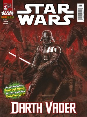 cover image of Star Wars Comicmagazin, Band 5--Vader