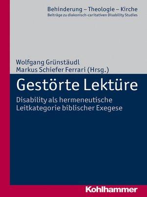 cover image of Gestörte Lektüre