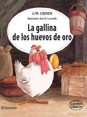 cover image of La gallina de los huevos de oro