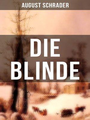 cover image of Die Blinde