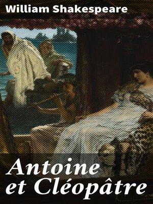 cover image of Antoine et Cléopâtre
