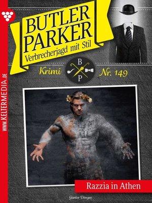 cover image of Butler Parker 149 – Kriminalroman