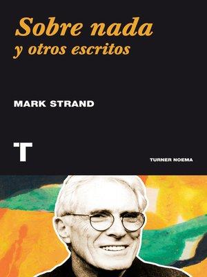 cover image of Sobre nada