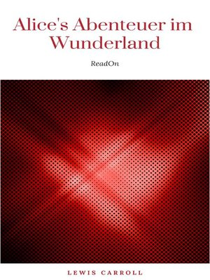 cover image of Alice's Abenteuer im Wunderland