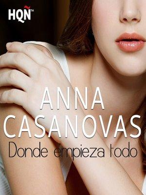 cover image of Donde empieza todo