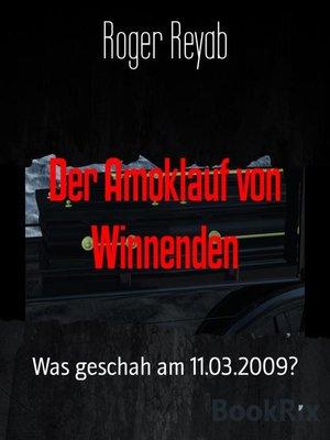 cover image of Der Amoklauf von Winnenden
