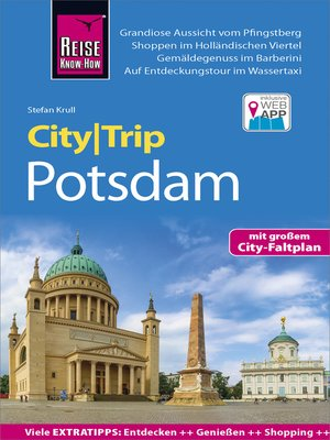 cover image of Reise Know-How CityTrip Potsdam
