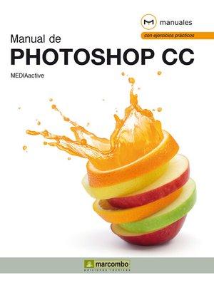 cover image of Manual de Photoshop CC