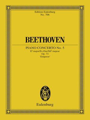 cover image of Piano Concerto No. 5 Eb major