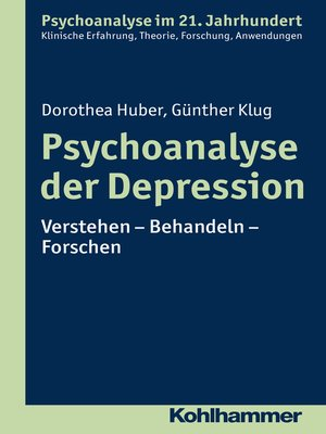 cover image of Psychoanalyse der Depression