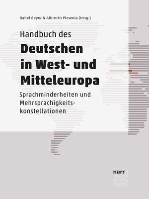 cover image of Handbuch des Deutschen in West- und Mitteleuropa