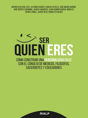 cover image of Ser quien eres